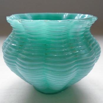 Bohemian Welz Bowl.....missing its pedestal - Art Glass