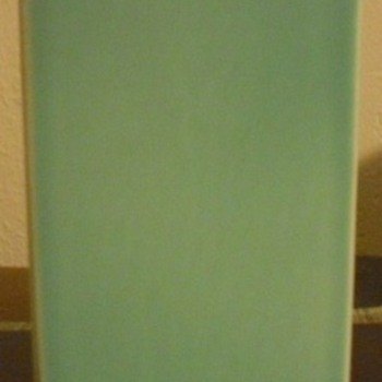 Art pottery Vase turquoise - Art Pottery