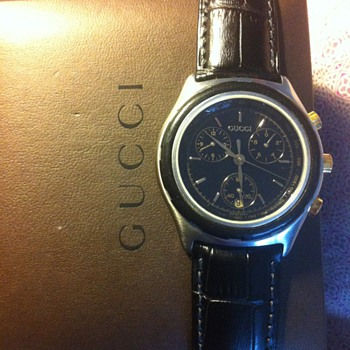 Gucci diver watch