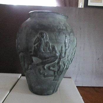 Gorgeous Vase/Water Jug or possibly an Urn - Art Pottery