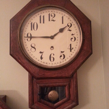 1853 New Haven Clock