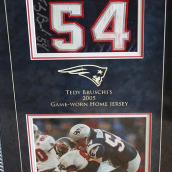 Tedy Bruschi Return Game Jersey