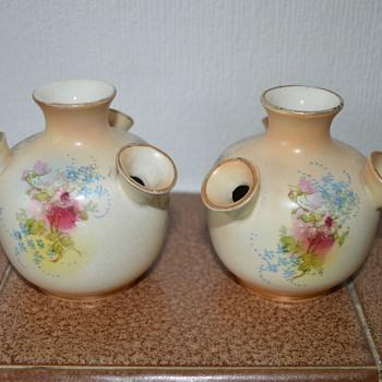 Fieldings' Royal Devon small vases - Art Pottery