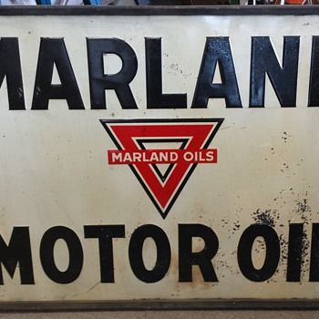 Marland Oil Company Signs