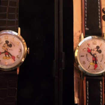 50th Anniversary of Walt Disney Company Mickey Watches - Wristwatches