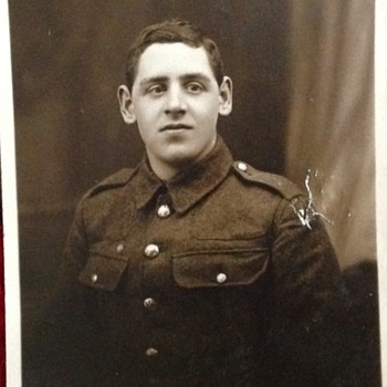 My Grandad during the First World War