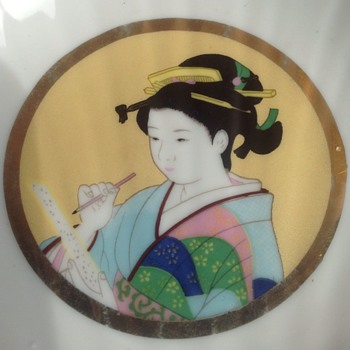 John Jenkins Japanese porcelain plate - Asian
