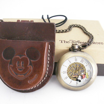 Mickey Pocket Watch (battery) - Pocket Watches