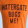 Original 1973 WATERGATE BUGS ME T-Shirt Anti-Nixon
