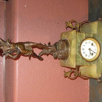 Can anyone help me with finding out more about this French Clock - Clocks