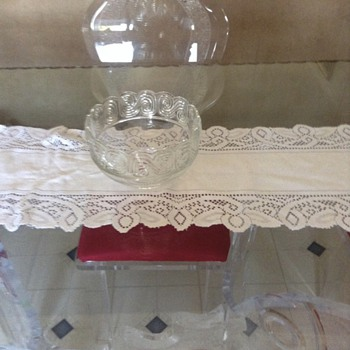 Louis comfort Designer crystal bowl