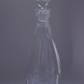 Stuart Crystal Decanter 1930s