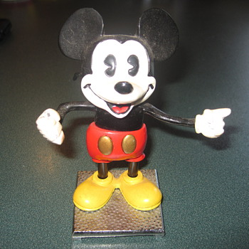 Mickey Mouse &quot;Maestro&quot;Disneylands 30th Anniversary - 70 of 400 Metal Figurine - Animals