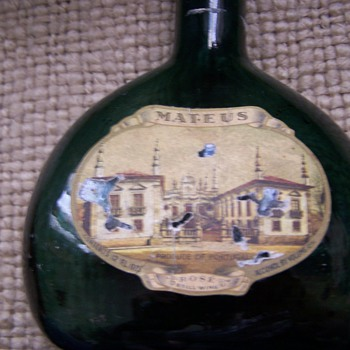 Mateus Wine Bottle