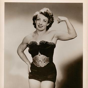 Vintage Girl Wrestler Photos Pre 1940 - Photographs