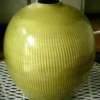 Mystery Japanese pottery vase