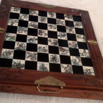 Chinese Chess Set - Asian