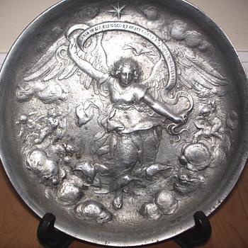 "Bronze Plate""The Nativity""1618 - Visual Art"