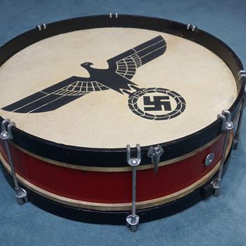 German WWII ceremonial drum