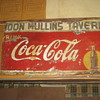 Found this old 1930's metal Coke sign in a neighbors closed up warehouse, 60 x 40