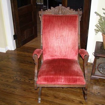 Old platform rocker. Eastlake?? - Furniture