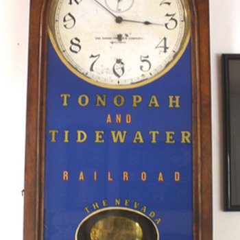 A Great Railroad Clock - Clocks