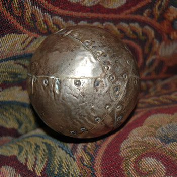 Folk Art Baseball Trophy