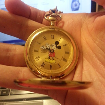 Pulsar Mickey Mouse Pocket watch - Pocket Watches