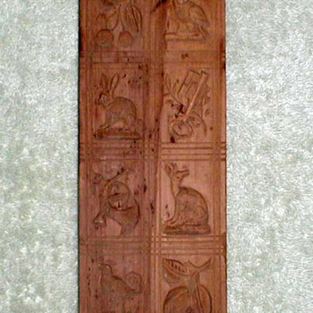 German Springerle Cookie Wood Mold