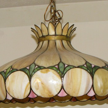 My Unknown Tiffany Style Lamp