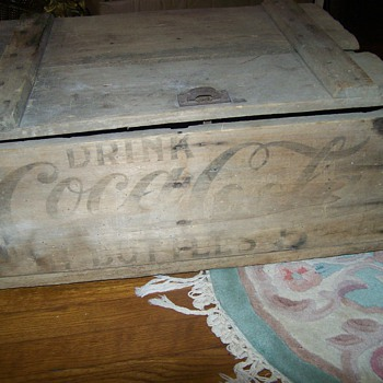 Antique Vintage early 1900's Coca Cola Crate Lexington Ky