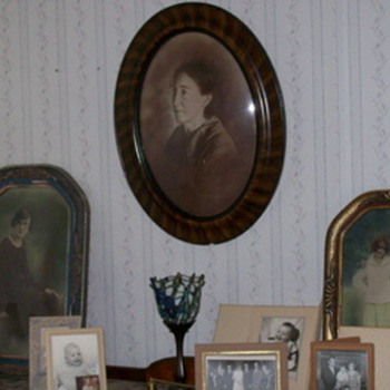 Ancestral photos and frames - Photographs