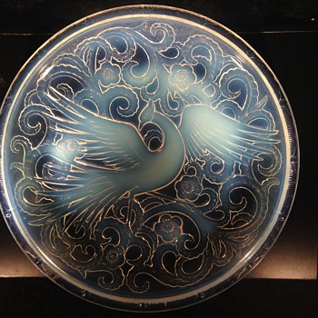 Pierre D'Avesn plate - Art Deco