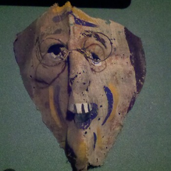 old masks - Folk Art