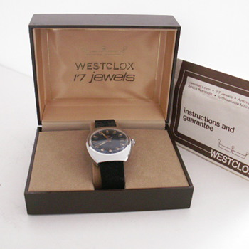 Westclox 17 Jewel