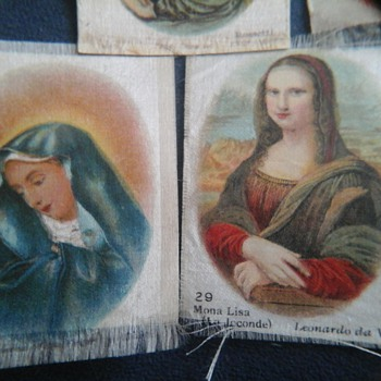 Old cigarette  silks!! - Cards