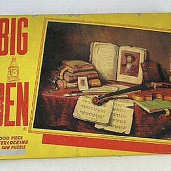 Big Ben One Thousand Piece Puzzle, 1947 Never Opened - Games