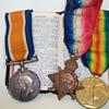 World War 1 Trio of Medals +Common Prayer Bok