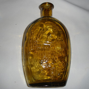 Columbian Eagle Flask