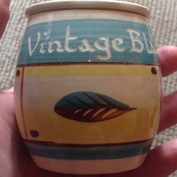 Rainham pottery vintage blade pot