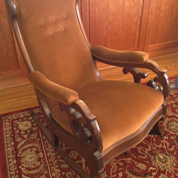 Grandfather's rocking chair