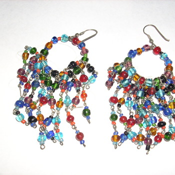 My groovy earrings from the 70's - Costume Jewelry