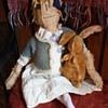 Antique Bunny Rabbit Stuffed Animal