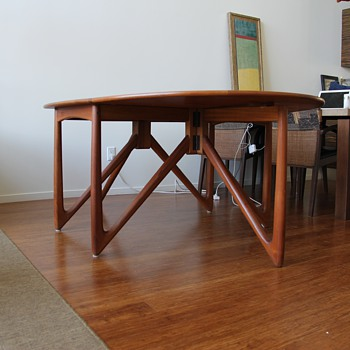 Ostervig for Jason Moebler Drop Leaf Table - Mid-Century Modern