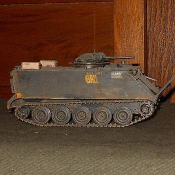M132 Armored Flame Thrower Model 1/35th Scale Vietnam Era