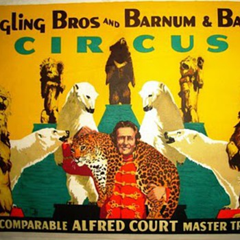 Ringling Bros and Barnum &amp; Bel Geddes