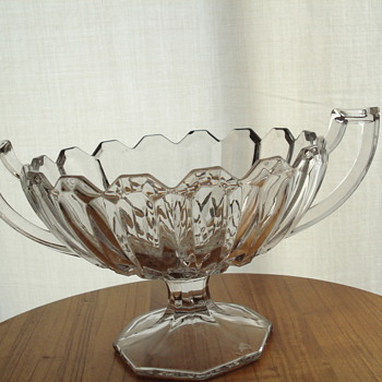 Large Compte/ bowl - Glassware