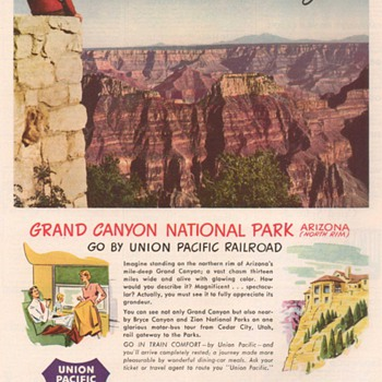 1951 - Union Pacific Railroad Advertisement - Advertising