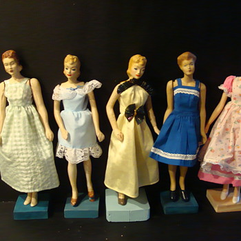 fashiondoll collection - Sewing