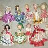 14 Old dolls